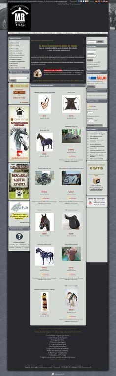 La tienda online con más de 65.000 productos dedicados al mundo del caballo: www.dearenaysal.com