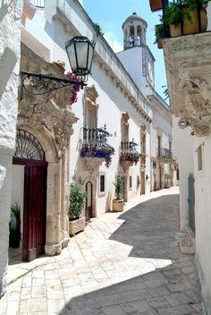 locorotondo, Puglia italy -