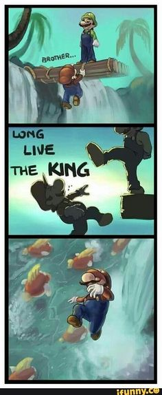 Love live the King. Mario.