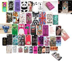 """Awesome phone cases"" by gracepoytress ❤ liked on Polyvore"