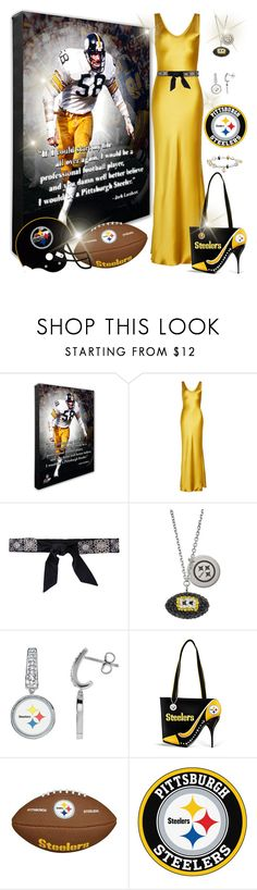 """Steeler nation"" by joyfulmum ❤ liked on Polyvore featuring Galvan, Chanel and The Bradford Exchange"
