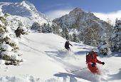 Ski resorts in dream settings