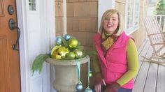 How to Make Christmas Ball Ornaments