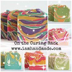 Pure Silk Irish Handmade Soap Curing