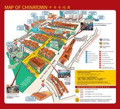 Singapore Chinatown Map - Chinatown Singapore • mappery