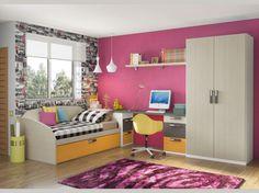 Fotografía de Dormitorio Juvenil Team de la firma LANMOBEL #muebles #dormitoriosjuveniles #mueblipedia