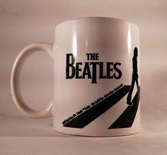 Genuine The Beatles Abbey Road Large Coffee/Tea Mug Apple Abby Road Free Ship