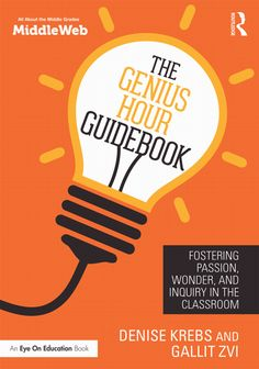 Buy The Genius Hour Guidebook by Denise Krebs at Mighty Ape NZ. Promote your students' creativity and get them excited about learning! In this practical new book, authors Denise Krebs and Gallit Zvi show you how to. Inquiry Based Learning, Project Based Learning, Fun Learning, Learning Activities, Genious Hour, Primary Classroom, Classroom Ideas, Apple Classroom, Science Classroom
