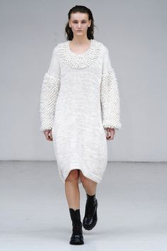Knitting inspiration // oversized// Jean-Paul Lespagnard