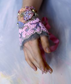 beaded cuff by mskris09, via Flickr