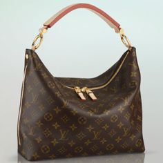 Top Material Louis Vuitton Sully PM Brown Top Handles Are Calling For You Now! All New Designer Handbags, Bags, and Purses here! Sac Michael Kors, Michael Kors Outlet, Cheap Designer Handbags, Cheap Handbags, Designer Bags, Nice Handbags, Luxury Designer, Coach Handbags, Louis Vuitton Taschen
