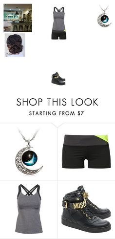 """First ""I love you"" with Bucky"" by sara598d on Polyvore featuring NIKE, Lucy and Moschino"