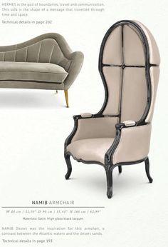 BRABBU | ARMCHAIR and SOFA by Brabbu. Pastel colors. | www.bocadolobo.com | #luxuryfurniture