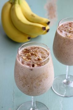 Wake up right with this protein packed French Toast #Smoothie! Dairy free.