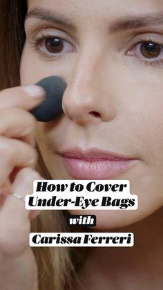 Airbrush Makeup, Skin Makeup, Beauty Skin, Beauty Makeup, Makeup Blending, Under Eye Bags, Minimal Makeup, Makeup Makeover, Makeup Tips For Beginners