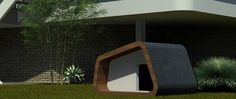 Share this on WhatsApp Looking to create a dog house that was a bit different form the usual ones, Matthew Zsolt created a pet house that is eye candy and also works when functionality bit I considered. A very minimalistic but useful design, the dog house is made from weather-resistant finish for rain, snow and ...