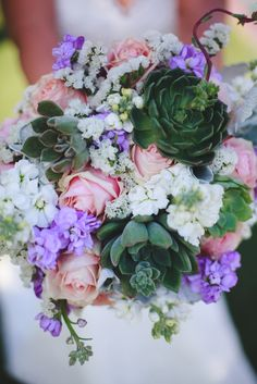 Blush, Lavender and Succulent Bridal Bouquet | Eyes 2 See https://www.theknot.com/marketplace/eyes-2-see-scottsdale-az-877643 | Arizona Biltmore | Table Tops, Etc.
