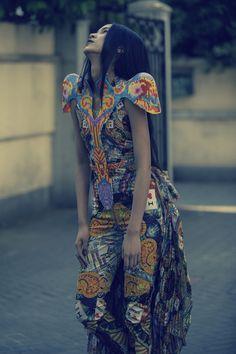 """Melting Pot"", fashion collection bySabine Ducasse"