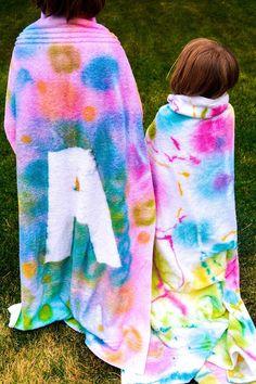 DIY: Spray Tie-Dye p