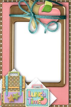 Back to School - Larry Derose - Picasa Web Albums Borders For Paper, Borders And Frames, Page Borders Design, Doodle Frames, Printable Scrapbook Paper, School Scrapbook, School Clipart, Frame Clipart, School Decorations