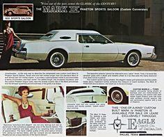1972 Lincoln Continental Mark IV Phaeton Sports Saloon AD