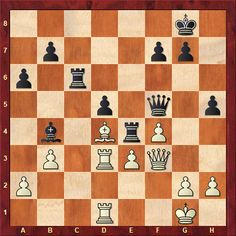 Daily Chess Training Tactics From this week's TWIC download: Nisipeanu-Parligras Bucharest rapid 2018 White to move - how should he best continue? (more than the first move needed for a complete answer)