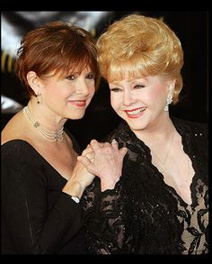 Carrie and Debbie    Having originally been known as the daughter of Debbie Reynolds and Eddie Fisher, Carrie Fisher has reinvented her role as an actress and writer.