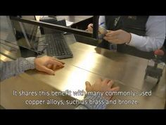 Antimicrobial Copper Surfaces at Santiago Airport Surface, Copper, Youtube, Santiago, Youtube Movies, Brass