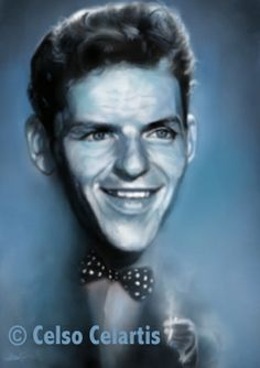 #franksinatra by © Celso Celartis , Winning entry for FRANK SINATRA Art and illustration contest http://www.sketchoholic.com/contests/frank-sinatra-art-and-illustration-contest-hosted-by-diego-puglisi-sketchoholic-bookpushers #caricatures #art