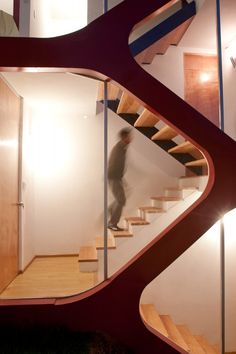 ATZ Living / CRAFT Arquitectos..escalera..