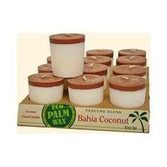Aloha Bay Votive Candle Bahia Coconut (12x2 Oz)