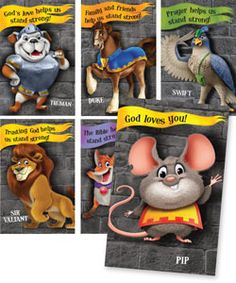 Kingdom ROCK VBS | Bible Point Posters | Colorful! Fun! Great reminders of important Bible truths! #VBS
