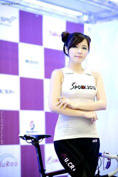 """Spoex luôn là một triển lãm thể thao quy tụ nhiều hot girl vô cùng nóng bỏng. Hôm nay, hãy cùng Genk """"chiêm ngưỡng"""" một PG vô cùng sexy, Ryu Ji Hye. Girl Celebrities, Cute Pictures, Ted, Hot Girls, Korea, Ballet Skirt, Girly, Events, Fashion"""