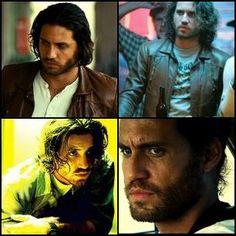 Edgar Ramirez in Domino...love the scruffy long hair look on him.