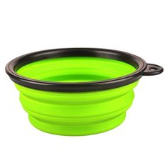 Pet Cat Dog Outdoor Travel Portable Foldable Collapsible Pet Bowls Food Water Feeding Silicone Bowl Dish Feeder