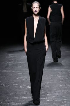Haider Ackermann Spring 2013 Ready-to-Wear Fashion Show - Maria Kashleva