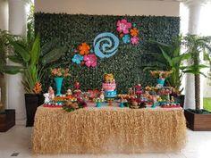 Moana Theme Birthday, Moana Themed Party, Luau Theme, Moana Party, 1st Boy Birthday, 3rd Birthday Parties, Birthday Party Decorations, Festa Moana Baby, Hawaian Party
