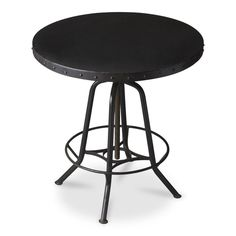 Studly Industrial style Hall Pub Bar Table made from steel.