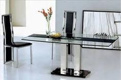 [ Glass Top Tabled For Dining Room Design And Decorating Ideas Table Sets Uploaded Admin Dinner Category ] - Best Free Home Design Idea & Inspiration Dining Table Design, Dining Tables, Beautiful Dining Rooms, Large Table, Modern House Design, Dinner Table, Restaurant Design, Decorating Ideas, Decor Ideas