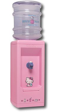 Hello Kitty water cooler.