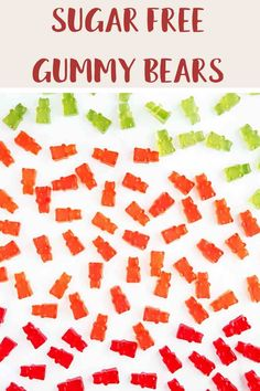 Looking for zero point candy? Then try these easy to make sugar free gummy bears. Just 3 ingredients and zero smartpoints on Weight Watchers Blue, Purple and Green plans. A tasty WW dessert recipe. #weightwatcherssnacks #weightwatchersrecipeswithpoints #zerosmartpoints #wwsnackrecipes Weight Watchers Plan, Weight Watchers Smart Points, Weight Watchers Chicken, Weight Watchers Desserts, Sour Gummy Bears, Sugar Free Gummy Bears, Weight Watcher Cookies, Jelly Crystals, Sugar Free Pudding