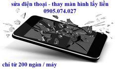 Sửa điện thoại lấy liền 200k/máy, thay màn hình iphone, ipad đủ loại ➡ facebook.com/suadienthoaithaymanhinh  ➡ Giá từ 100k - 200k, bể màn hình, chết cảm ứng gọi ngayTrọng Ân Mobi ! 0905.074.027  Nhận và giao máy tận nơi !!!  💲💲 Khuyến mãi thay màn hình điện thoại cảm ứng và sửa điện thoại lấy liền giá chỉ từ 100k – 200k/ lần (tùy theo máy) 🎁🎁 Tư vấn miễn phí : 0905.074.027 - Địa chỉ : 134/99 Lý Chính Thắng P7 Q3    🎁🎁 Nhận và giao máy tận nơi luôn !   🔓 Trọng Ân Mobi chuyên : ➡ Chuyên…