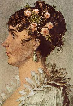 Joséphine after Jean-Baptiste Isabey (Châteaux de Malmaison et Bois-Préau, Malmaison France).