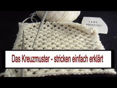The cross pattern – also for beginners – Best Knitting 2020