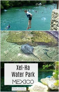 Xel-Ha eco water park Riviera Maya, Mexico Cancun Top 10 Things to do at Xel-HaFamily friendly Mexico Things to do with kids Mexico Tulum