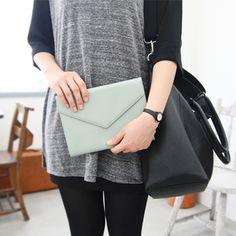 Leather iPad Mini Clutch – Charm & Gumption