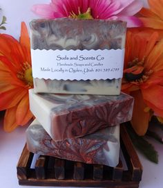 WHITE TEA & GINGER Handmade Body soap with Goats Milk, Buttermilk and Aloe Vera Juice by SudsNScentsCo on Etsy