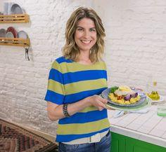 Todos os detalhes do look da Rita Lobo no Cozinha Prática