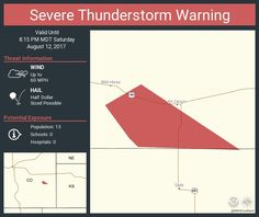 Severe Thunderstorm Warning continues for Cheyenne County, CO until 8:15 PM MDTpic.twitter.com/m4GdR5vqxF - https://blog.clairepeetz.com/severe-thunderstorm-warning-continues-for-cheyenne-county-co-until-815-pm-mdtpic-twitter-comm4gdr5vqxf/