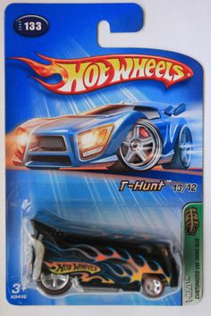 HW74 MOC Hot Wheels Treasure Hunts 2005 #13/12 VW Drag Bus T-Hunt